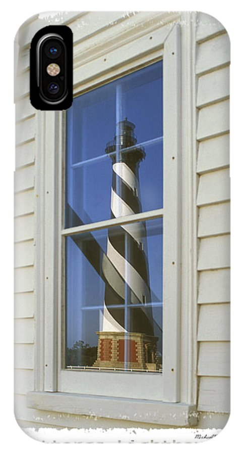 Cape Hatteras Lighthouse IPhone X / XS Case featuring the photograph Hatteras Lighthouse S P by Mike McGlothlen