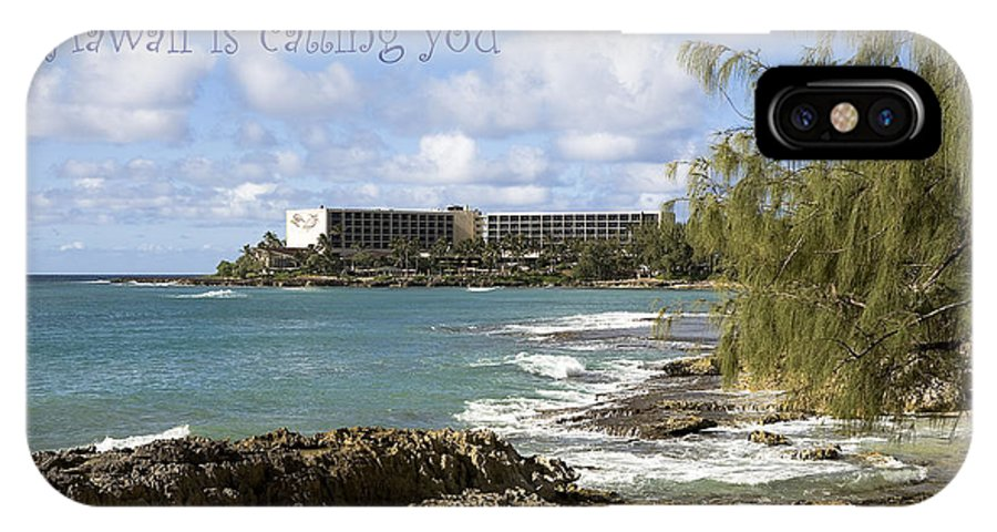 Hawaii IPhone X Case featuring the photograph Hawaii Is Calling by Eric Swan