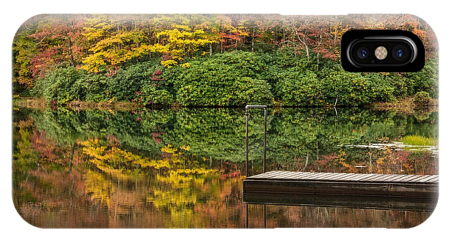 Autumn IPhone X Case featuring the photograph Heads Or Tails by Jim Southwell