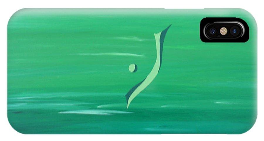 Energy Angels Spiritual Integral Divine Healing Meditation Dream Symbol Peace God Goddess Tree Of Life Divine Healing Meditation Dream Symbol Peace God Goddess Energy Angels Blue Heaven Soul Spirit Yoga Zen Chi Life Force Spiritual Mantra Mandala Sacred Geometry Healing Feng Shui IPhone X Case featuring the painting Healing And Meditation - Peace by Elle Nicolai