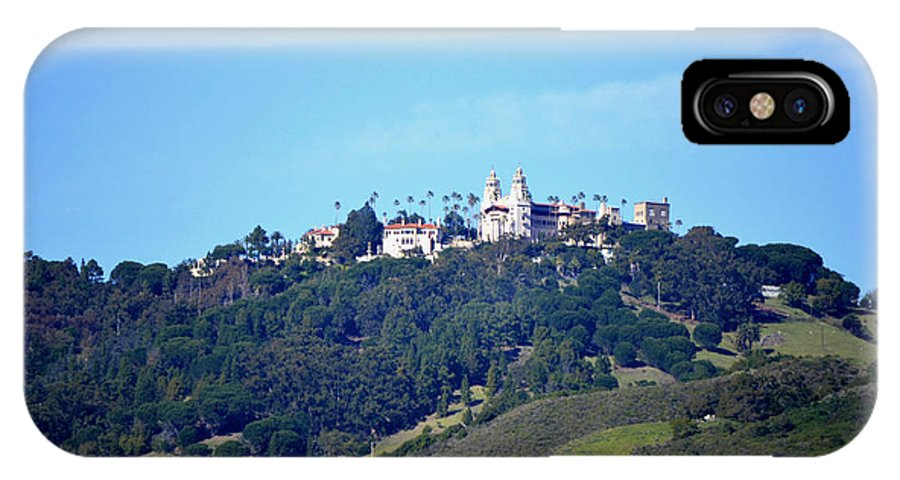 Hearst Castle - Darryl Barclay IPhone X Case featuring the photograph Hearst Castle by Darryl Barclay