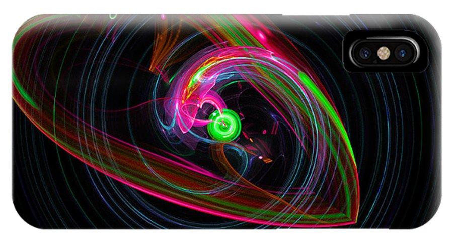Heart IPhone X Case featuring the digital art Heart Failure by Dee Flouton