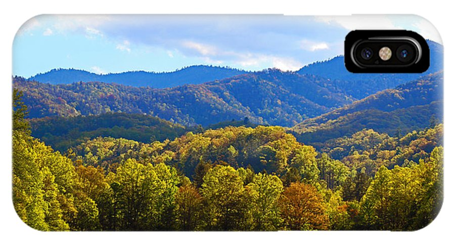 Cataloochee IPhone X Case featuring the photograph Heart Of Cataloochee by Wil Barker