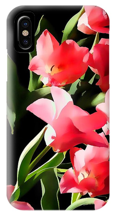 Photograph IPhone X Case featuring the photograph Heavenly Blooms by Don Dennis