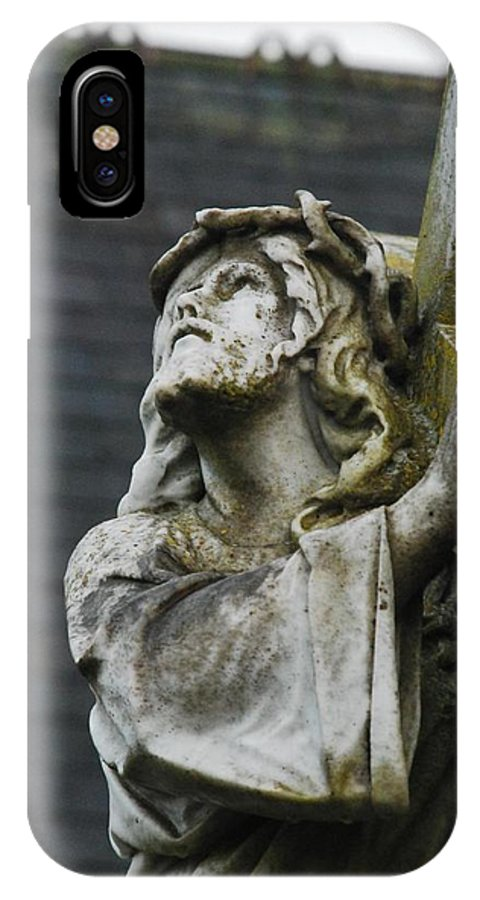 Cross IPhone X Case featuring the photograph Heavy Burden by Cindy Kreutzer