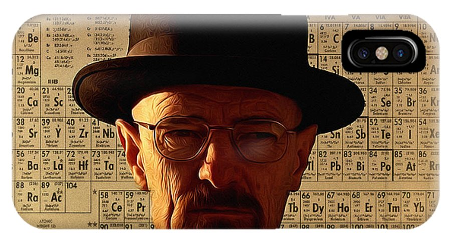Heisenberg IPhone X Case featuring the photograph Heisenberg by Bill Cannon