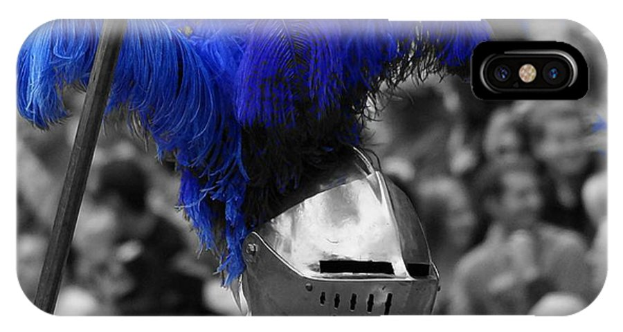 Fine Art IPhone X Case featuring the photograph Helm 2 by Rodney Lee Williams