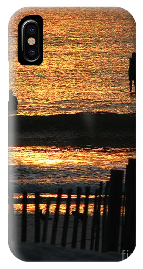 Art For The Wall...patzer Photography IPhone X Case featuring the photograph Here Comes The Sun by Greg Patzer