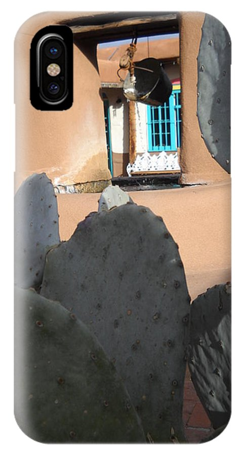 Cactus IPhone X Case featuring the photograph Here Or There by Jim Jones