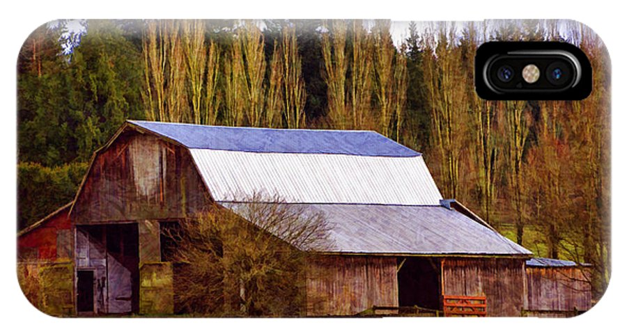 Barn IPhone X Case featuring the photograph Heritage Remembered by Jordan Blackstone