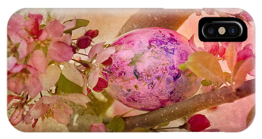 Easter IPhone X Case featuring the photograph Hidden by Betty LaRue