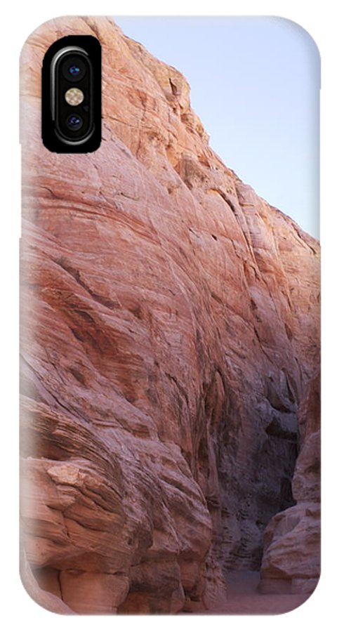 Canyon IPhone X Case featuring the photograph Hidden Canyon by Elizabeth Ziegelbein