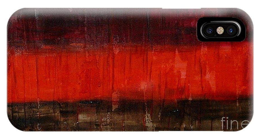 Modern Art IPhone Case featuring the painting High Energy by Silvana Abel