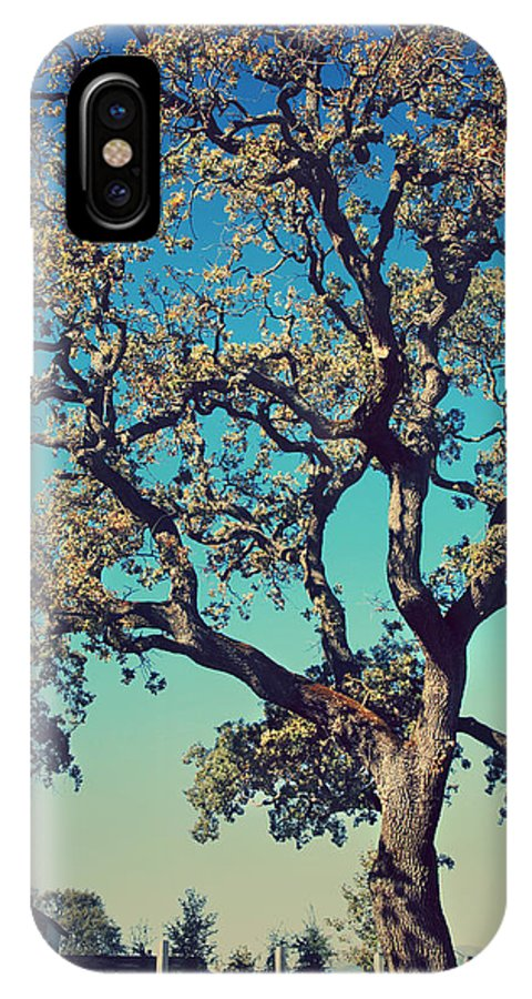 Pleasanton IPhone X Case featuring the photograph High Spirits by Laurie Search