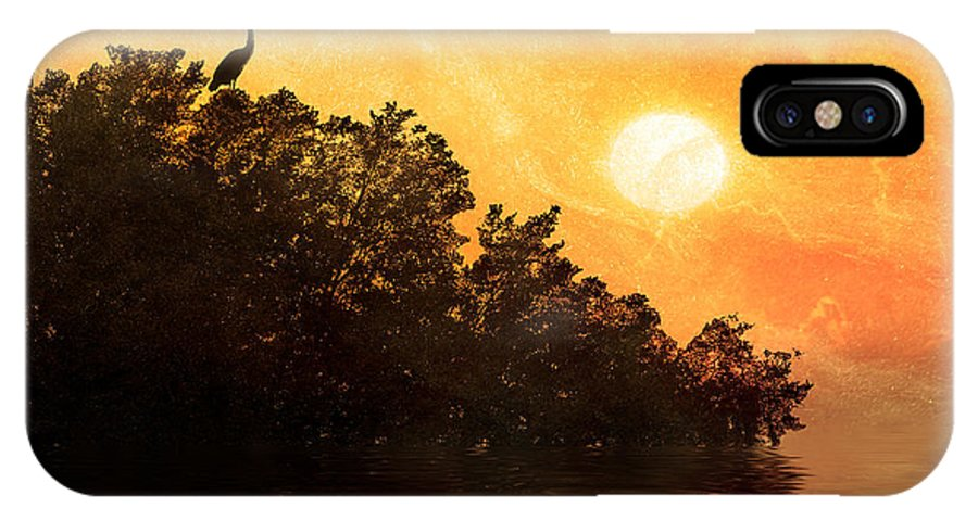 Fine Art IPhone X Case featuring the photograph Higher Perspective by Stephen Warren