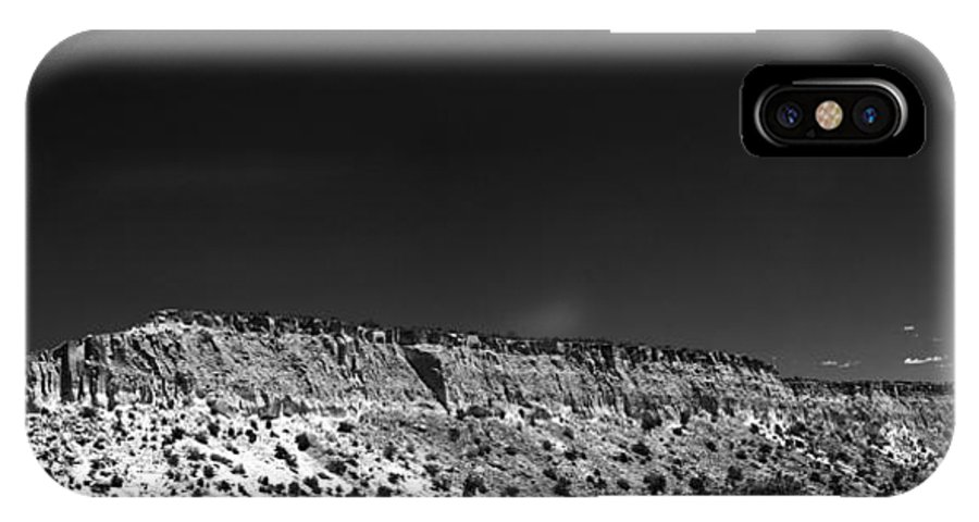 New Mexico IPhone X Case featuring the photograph Highway 502 To Los Alamos Nm by Julie VanDore