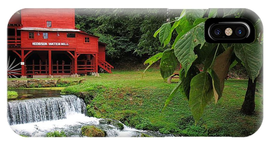 Hodgson Water Mill IPhone X Case featuring the photograph Hodgson Water Mill by Skip Hunt