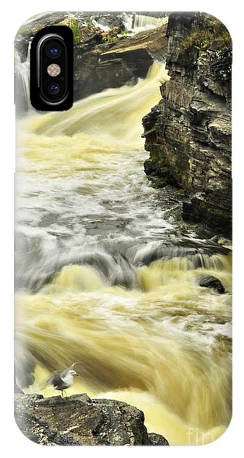 Michael Cummings IPhone X / XS Case featuring the photograph Hogs Back Falls by Michael Cummings