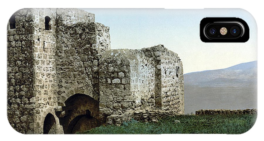 1895 IPhone X Case featuring the photograph Holy Land: Ruins by Granger