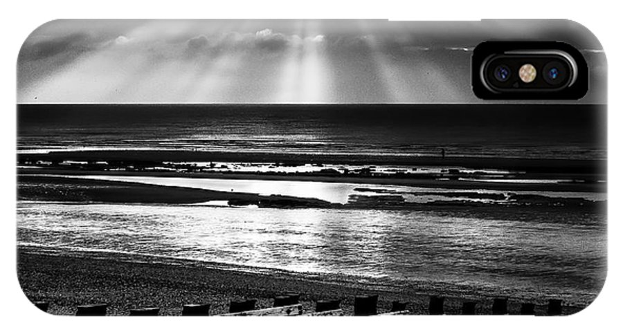 Light IPhone X Case featuring the photograph Holy Light by Tony Skerl