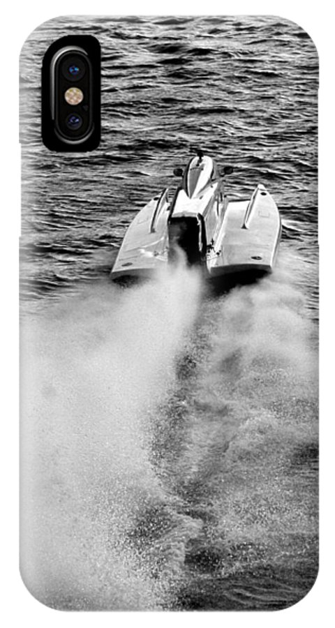 F-2 North American Championships IPhone X Case featuring the photograph Home Stretch by Sandy Fraser