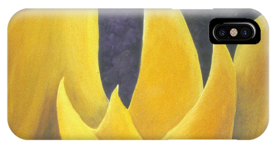 Tulips IPhone X Case featuring the painting Hope by Ingela Christina Rahm