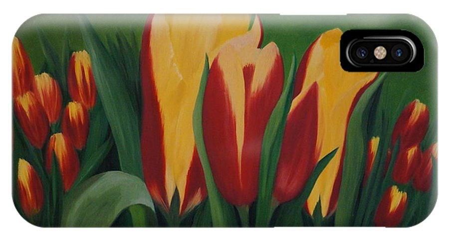 IPhone X Case featuring the painting Hope by DeeAnn Veeder