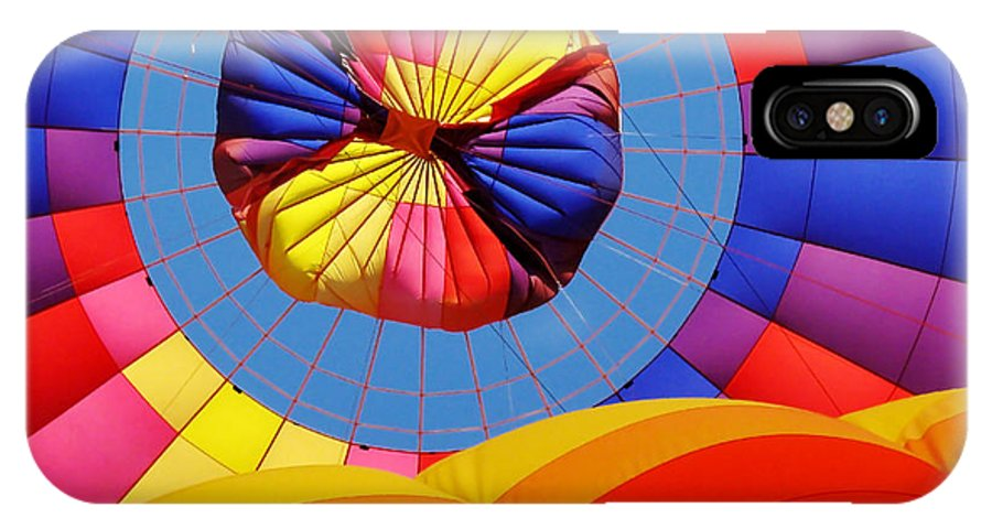 Hot Air Balloon IPhone X Case featuring the photograph Hot Air Balloon by Julie Huffman