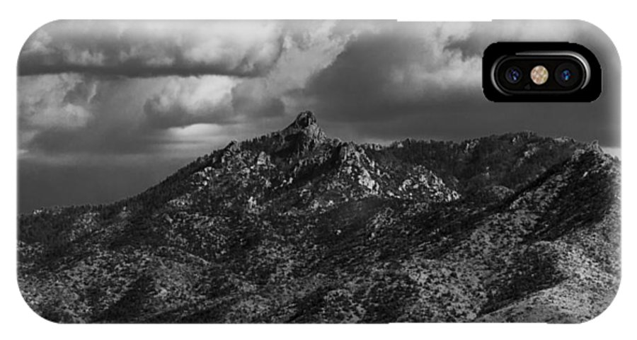 Mountains IPhone X Case featuring the photograph Hualapai by James Busse