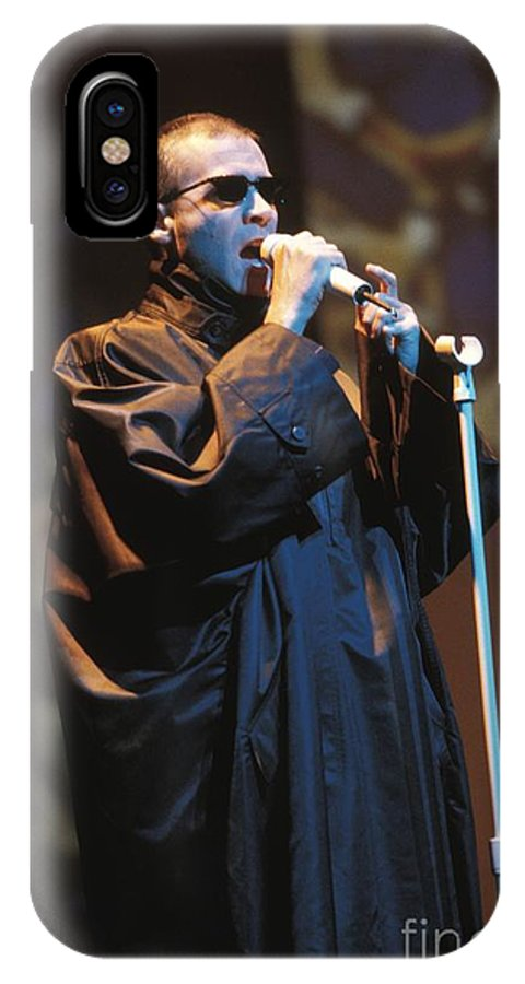 Appearance IPhone X Case featuring the photograph Human League by Concert Photos