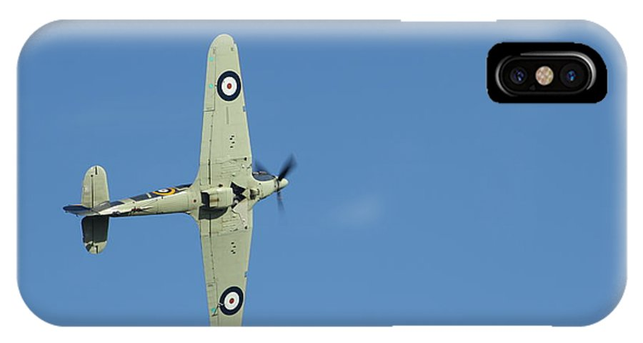 Aircraft IPhone X Case featuring the photograph Hurricane In Action by Donald Turner