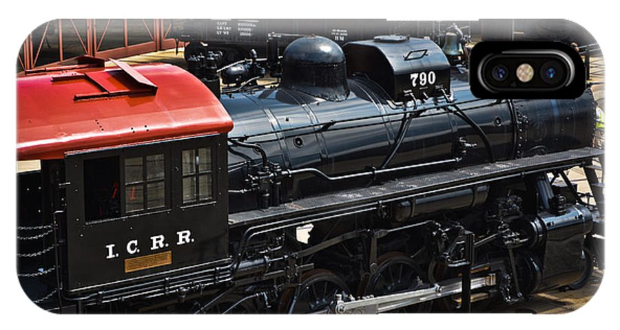 Train IPhone X Case featuring the photograph I C R R No. 790 by Gary Keesler