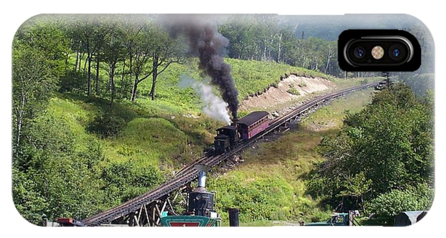 Cog Railroad IPhone Case featuring the photograph I Think I Can by Barbara McDevitt
