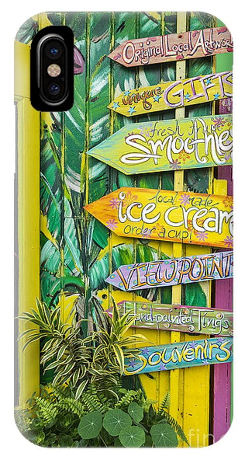 Ice Cream IPhone X Case featuring the photograph Ice Cream by Sheldon Kralstein