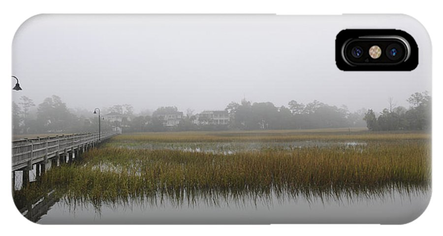 Fog IPhone X Case featuring the photograph Icy Foggy Day by Dale Powell