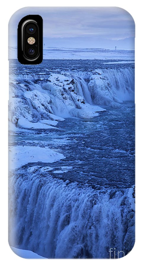 Iceland IPhone X Case featuring the photograph Icy River by Fabian Roessler