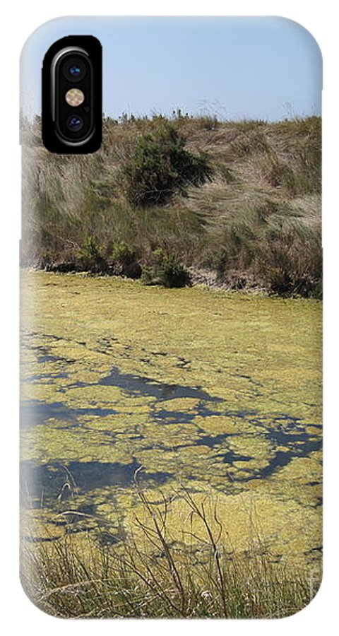 Marshes IPhone X Case featuring the photograph Ile De Re - Marshes by HEVi FineArt