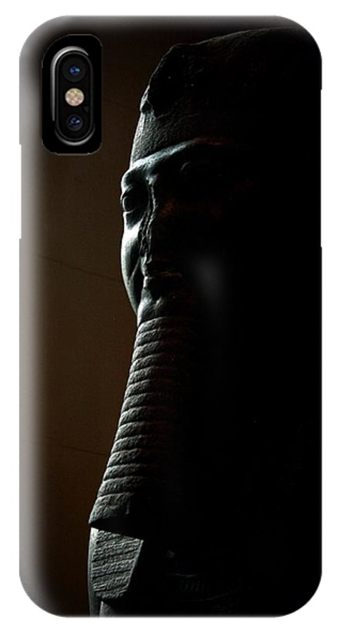 Egypt IPhone X Case featuring the photograph In The Shadows by MAriO VAllejO