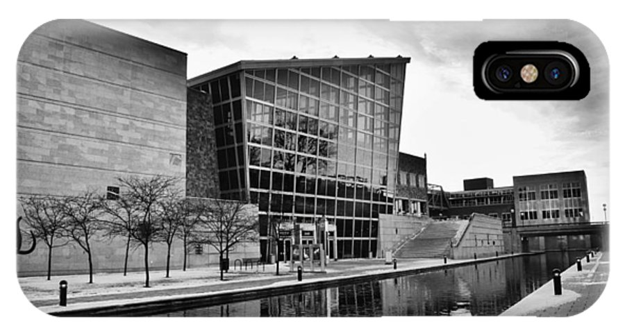 Indiana State Museum IPhone X Case featuring the photograph Indiana State Museum by David Haskett II