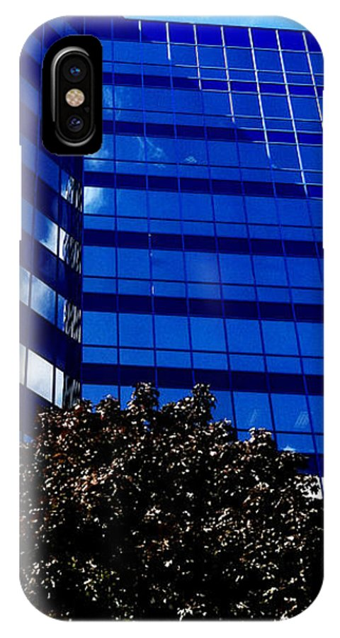 Jamie Lynn Gabrich IPhone X Case featuring the photograph Indigo Tower by Jamie Lynn