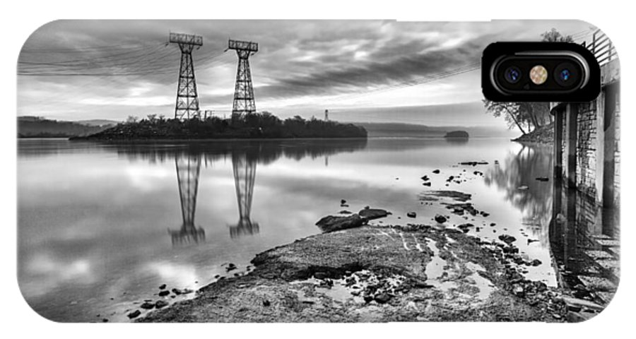Conowingo Dam IPhone X Case featuring the photograph Industrial Light And Magic by Edward Kreis
