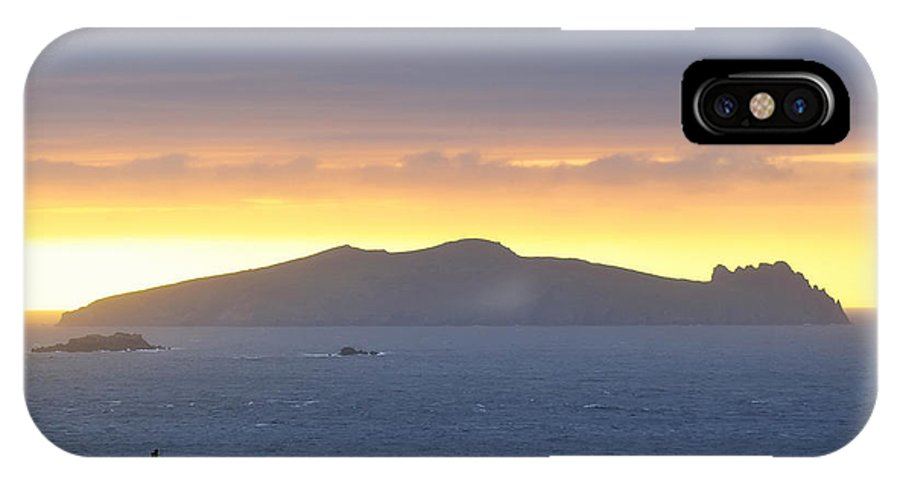 Island IPhone X Case featuring the photograph Innistooskert by Michael Walsh