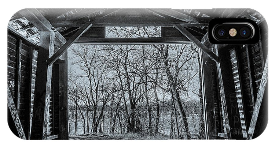 Barns IPhone X Case featuring the photograph Inside Out by Janice Poole