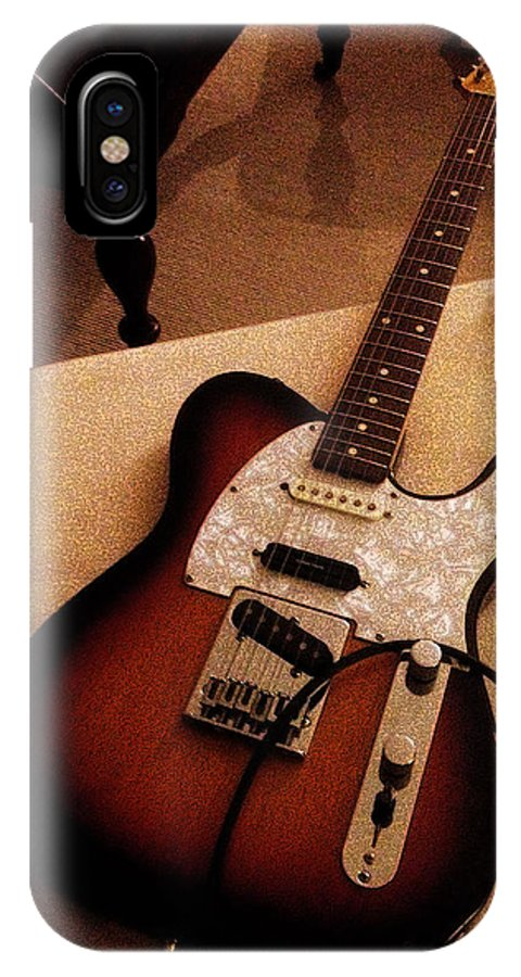 Telecaster IPhone X Case featuring the photograph Inspiration To Creation by Joe Arsenian