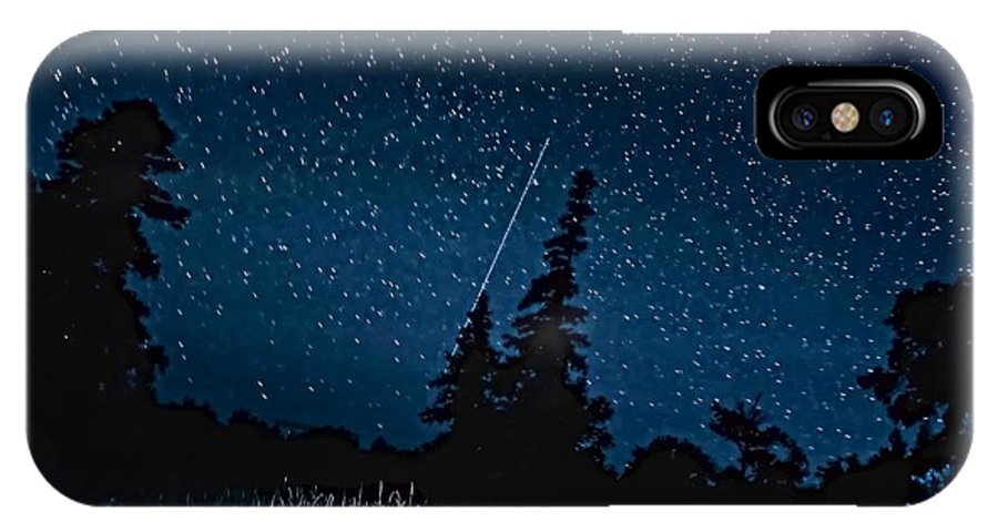 Galaxy IPhone X Case featuring the photograph Into The Night by Steve Harrington