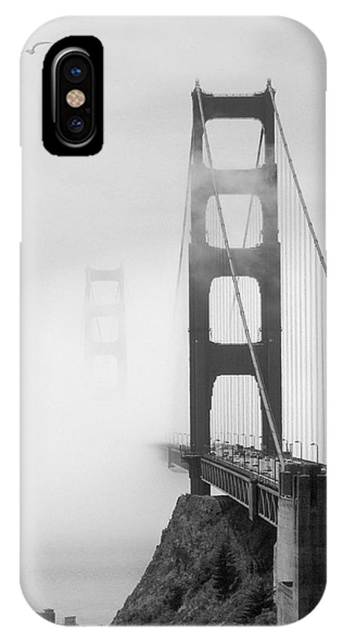 Landmarks IPhone X / XS Case featuring the photograph Into The Unknown by Mike McGlothlen