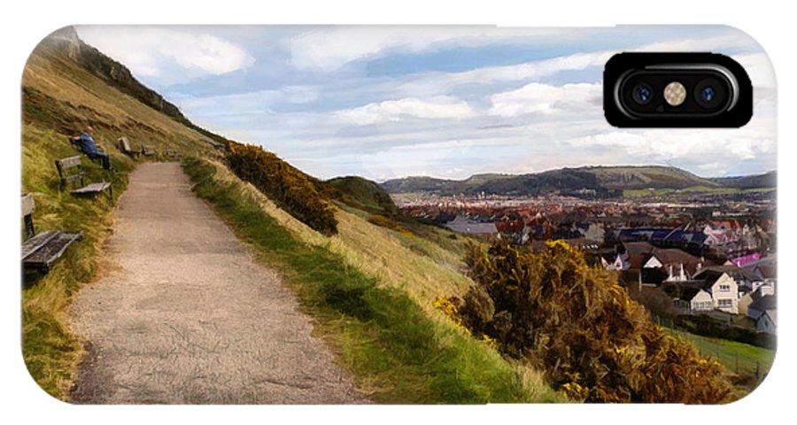 Path IPhone X Case featuring the photograph Invalids Walk by Karen Ann Jones