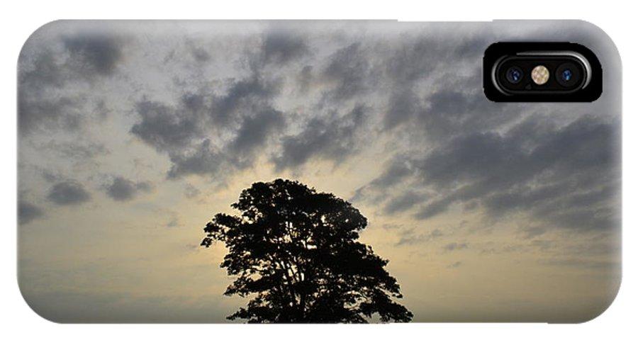Iowa IPhone X Case featuring the photograph Iowa Farm Country by Jordon Deutmeyer
