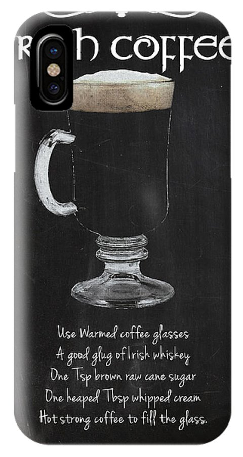 Irish Coffee IPhone X Case featuring the photograph Irish Coffee by Mark Rogan