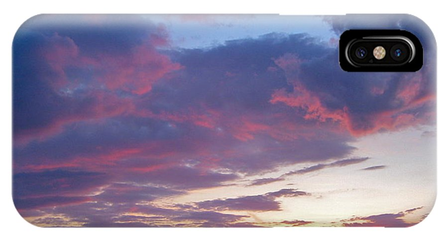 Sunset IPhone X Case featuring the photograph Irish Summer Solstice by Denise Mazzocco